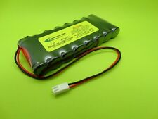 1000mA TRANSMITTER Tx BATTERY FITS FUTABA 4NBF  / NT8JY / MADE IN USA!