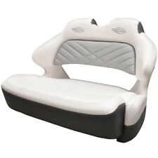 Chaparral Boat Helm Seat 31.00881 | Double Wide Bolster White Slate