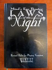 Laws of the Night Revised HC Mind's Eye Theatre Vampire the Masquerade