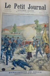 1900 China Border Russian Busy