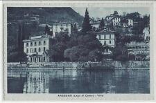 cartolina lago di como argegno spedita nel 1934