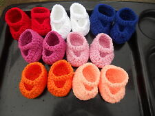 Crochet Cabbage Patch Doll Mary Jane Shoes~ U Pick Color