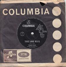 FRANK IFIELD True Love Ways / Summer Is Over 45