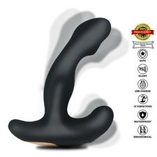 Vibrating Prostate Massager with 2 Powerful motors for Wireless Pleasure Health