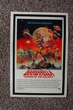 Barbarella Lobby Card Movie Poster #2  Jane Fonda