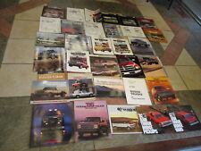 1970s,1980s,1990s Dodge Truck & Van Sales/Advertising Brochure & Flyer 33 pieces