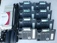 LG-Nortel ARIA 24ip w 8x LCD h/sets inc Voice Mail AA 12 months w/ty. Tax inv