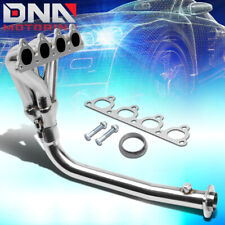 STAINLESS 4-1 HEADER FOR CIVIC/CRX/DEL SOL D-SERIES 4CYL SOHC EXHAUST/MANIFOLD