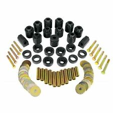 "Prothane 1-113-BL Body Mount Bushing 1"" Lift Kit Black for 1987-1996 Wrangler YJ"