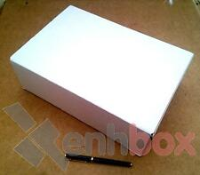 25 Cajas de cartón para envíos postales 30x20x10cm. Automontables Canal 3 blanco
