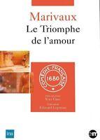 MARIVAUX - LE TRIOMPHE DE L'AMOUR - THEATRE - DVD