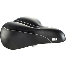 Madison L300 Women's Suspension Gel Comfort Saddle with Dual-Density Black