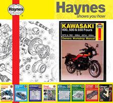 Haynes Service / Repair Manual for Kawasaki GPZ
