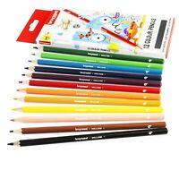 Bruynzeel Farbstifte IN Brieftasche - Verschiedene Farben - Packung 12
