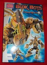 Mega Blok Bots Transforming Model Bloks Toy Warp Model 9375 Cyborgs Mutroids