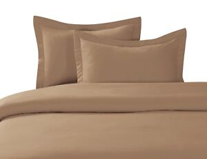 NEW BEDROOM COLLECTION COMFORTER CASE DUVET SET COVER TOP SOLID COLORS ALL SIZES