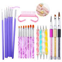 UV Gel Nail Brush Gradient Liner Painting Brushes Dotting Pen Nail Art Tools DIY