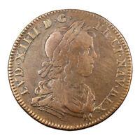 Jeton de Compte Louis XIV Conseil du Roi vers 1646 Token France