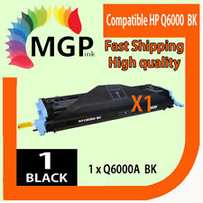 1x BLACK Toner Cartridge Q6000A for HP Laserjet 1600 2600N 2605 2605dn 2605dtn