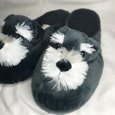 Dog Slippers ~ Schnauzer / Schnoodle / Schnorkie ~ One size fits up to 9.5 Women