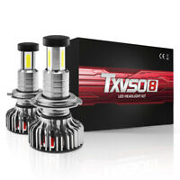 2 Pcs Car Error Free LED Headlight H7 Bulb Lamp Canbus 110W 30000LM 6000K IP68
