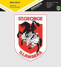 NRL St George Dragons iTag Mega Decal