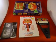 Game Genie Nintendo NES Near Complete w/ Box French Canadian / English Manual
