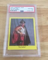 The Sultan Wwf Cardinal Trivia Series Psa Graded 10 pop 1 rookie