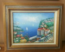 Rossini Original Painting Oil on Canvas Framed EXCD Smoke Free Environment