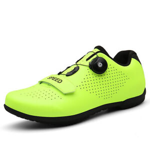 Professional Men's Cycling Shoes Breathable Road Bike Mountain SPD-SL Spin Shoes