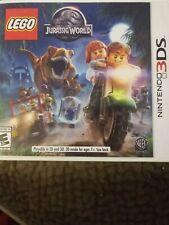 LEGO Jurassic World and Super Mario 3dland  (Nintendo 3DS, 2015)