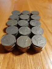 Flea Market or Forex Lot of 150 x Large Size New 50 Pence UK Great Britain Coins