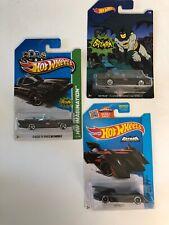 Hot Wheels Batman 3 Car Set NIB
