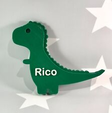 Personalised T-Rex 3D Printed Dinosaur Door Plaque - Bedroom - Children -Nursery