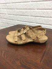 Vionic Orthaheel Womens Amber Pearl Adjustable Sandals 7