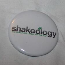 Shakeology Tony Horton White Logo Team Beachbody Coach Pinback Button NEW