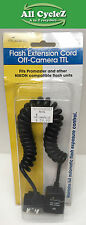 Promaster Flash Ext.Cord-Off-Camera TTL For Nikon New!