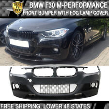 Fits 12-18 F30 M Performance Style PP Front Bumper Cover Conversion Kit PDC
