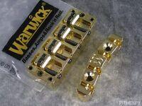 Warwick Gold 4 String Bass Bridge & Tailpiece Thumb Corvette Streamer Katana