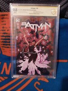 Batman 50 Cbcs 9.8 Signature series