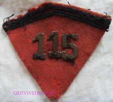 IN10794 - LOSANGE  DE COL  115° R.A.L.  1939-1940 chiffres metalliques