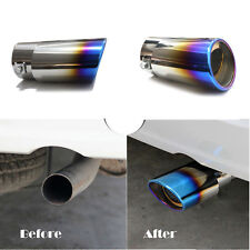 Colourful Stainless Steel Truck Auto Exhaust Pipe Trim Tips Muffler Pipe Decor