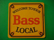 BEER Coaster Mat: Welcome to your BASS Local ~ Founded 1777 Burton-Upon-Trent UK