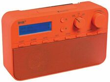 König Electronic DAB Radio With 20 Presets And Alarm Function, Red