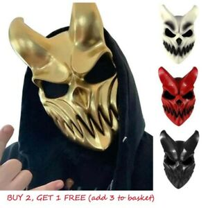 3D Latex Mask Scary Fancy Party Halloween Cosplay Costume Propss Demon Masks