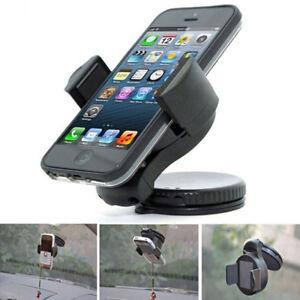 360 In Car Mobile Phone Holder Windscreen Dashboard Universal Mount Stand UK