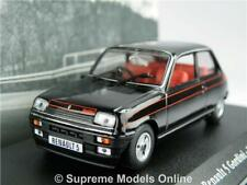 RENAULT 5 GORDINI MODEL CAR 1:43 SCALE 1982 BLACK IXO ATLAS LA SAGA K8