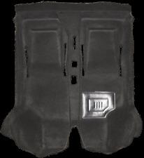 Fiat 500 FLR Car Carpet, Interior Carpet, Form Rug Black Suede Fiat 500 FLR