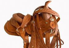 "10""  Western Pony Saddle Set for Kids with Headstall & Breastcollar"