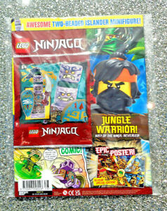 LEGO NINJAGO MAGAZINE ISSUE #78 ~ 2021 ~ NEW WITH MINIFIGURE ~